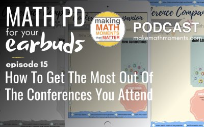 Episode #15 : How To Get The Most Of The Conferences You Attend