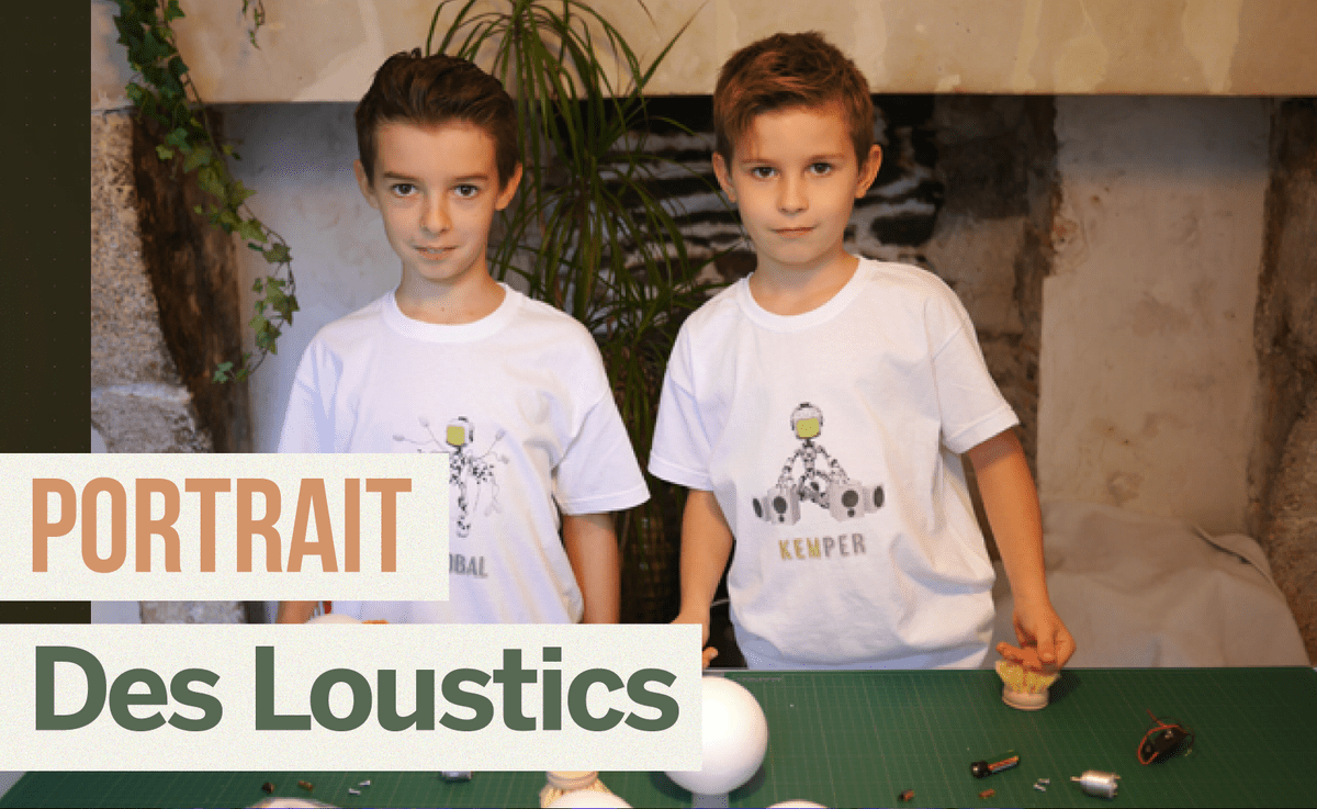 Portrait de Makers #6 > Des Loustics