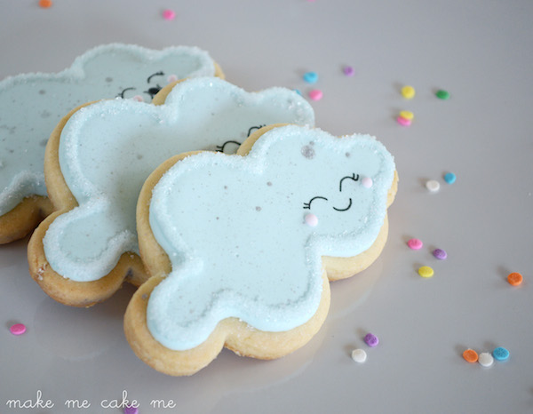 Winter Snow Cloud Cookies