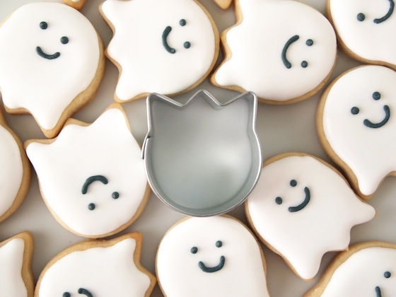 Sneaky Little Ghost Cookies