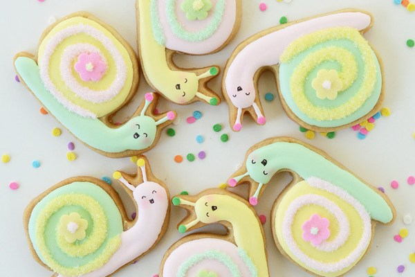 Summer Snail Cookies: Because Slow Food is Sweet