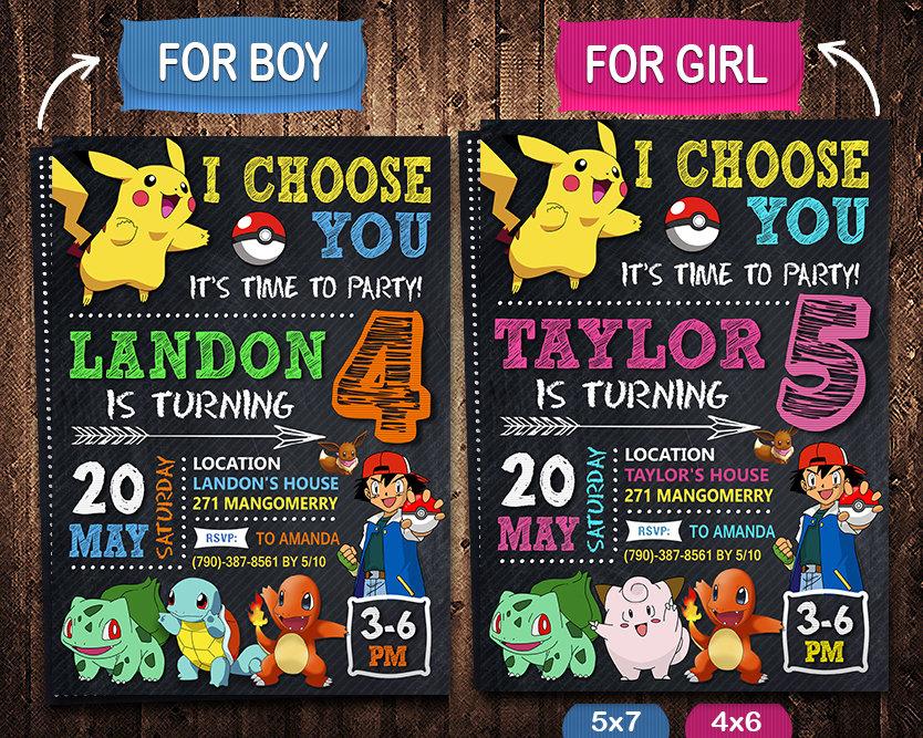 pokemon birthday invites printable pokemon invite pikachu invitation pokemon birthday party pokemon printable
