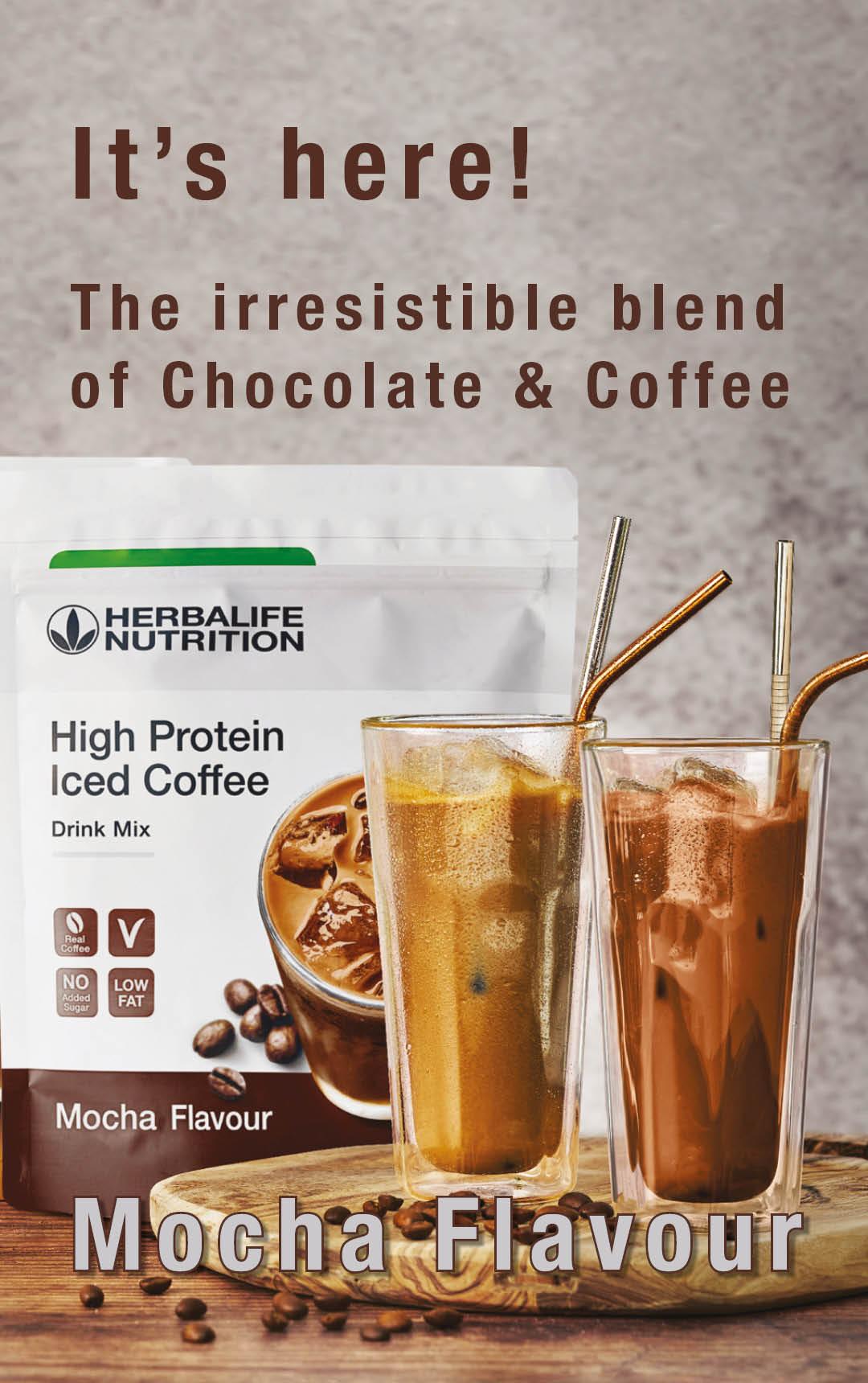 Herbalife High Protein Iced Coffee Mocha (308g)