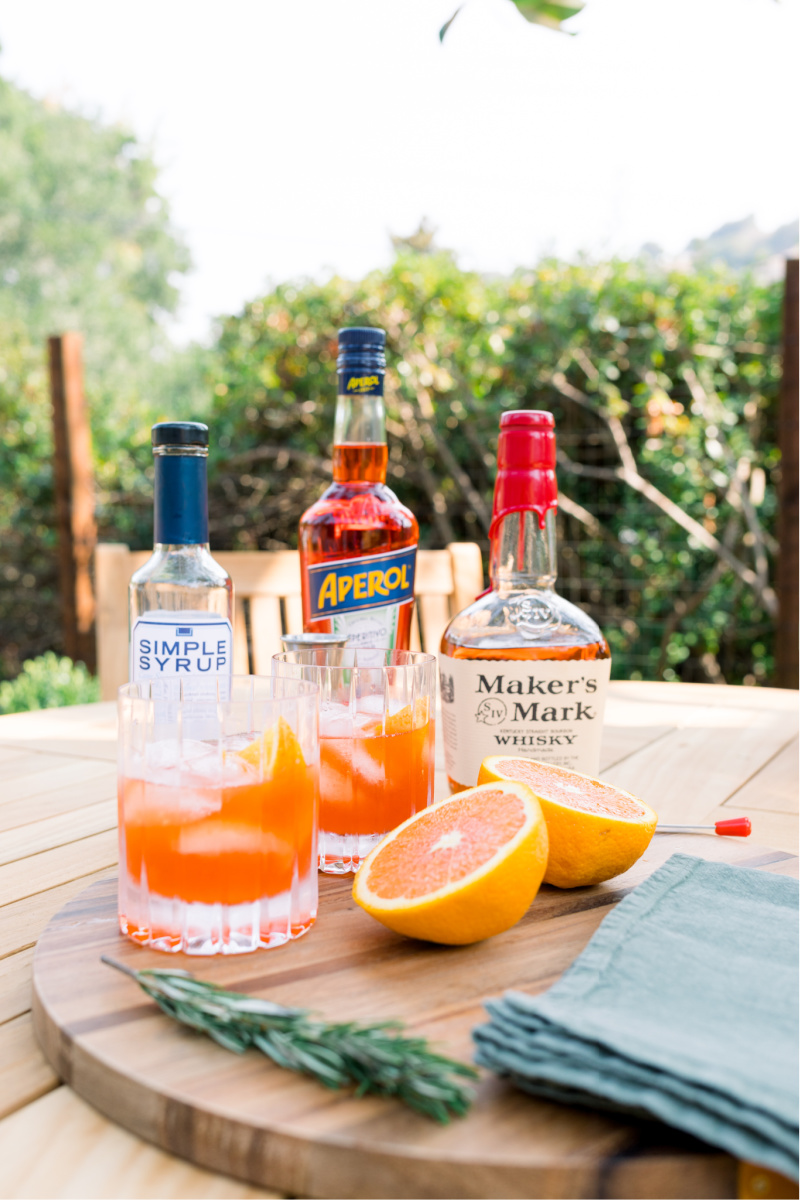 Bourbon Spritz Drink Ingredients