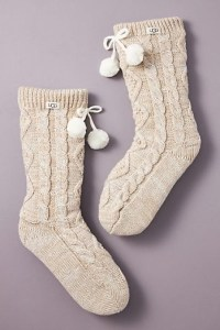 Ugg Fleece Lined Socks