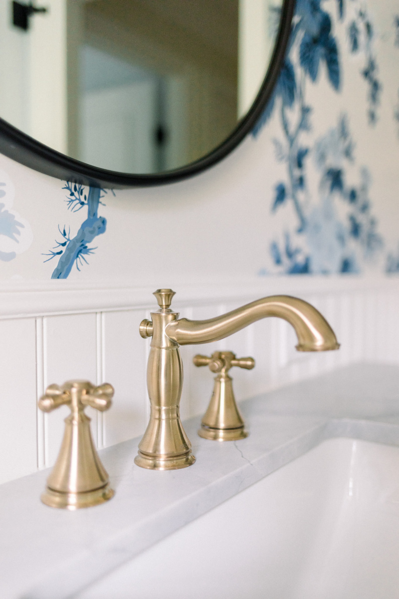 Delta Cassidy Faucet in Champagne Bronze