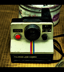 Polaroid Land Camera 1000 by Fallen Angel / Angel...  (Flickr)