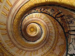 Spiral Staircase by Martin Haesemeyer (Flickr)