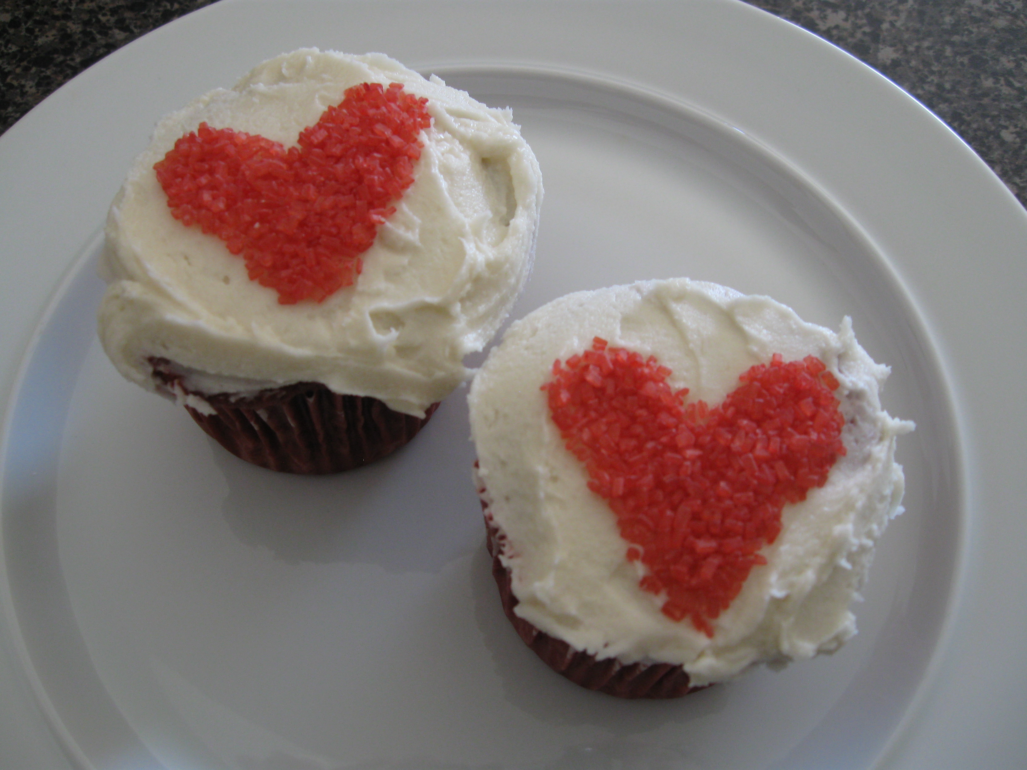 Red Velvet Cupcake Bliss Plus Decorating And Packaging