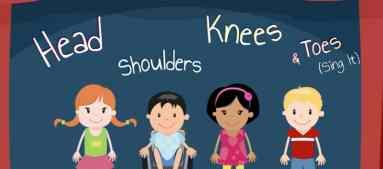 Resultado de imagen de head shoulders knees kids song