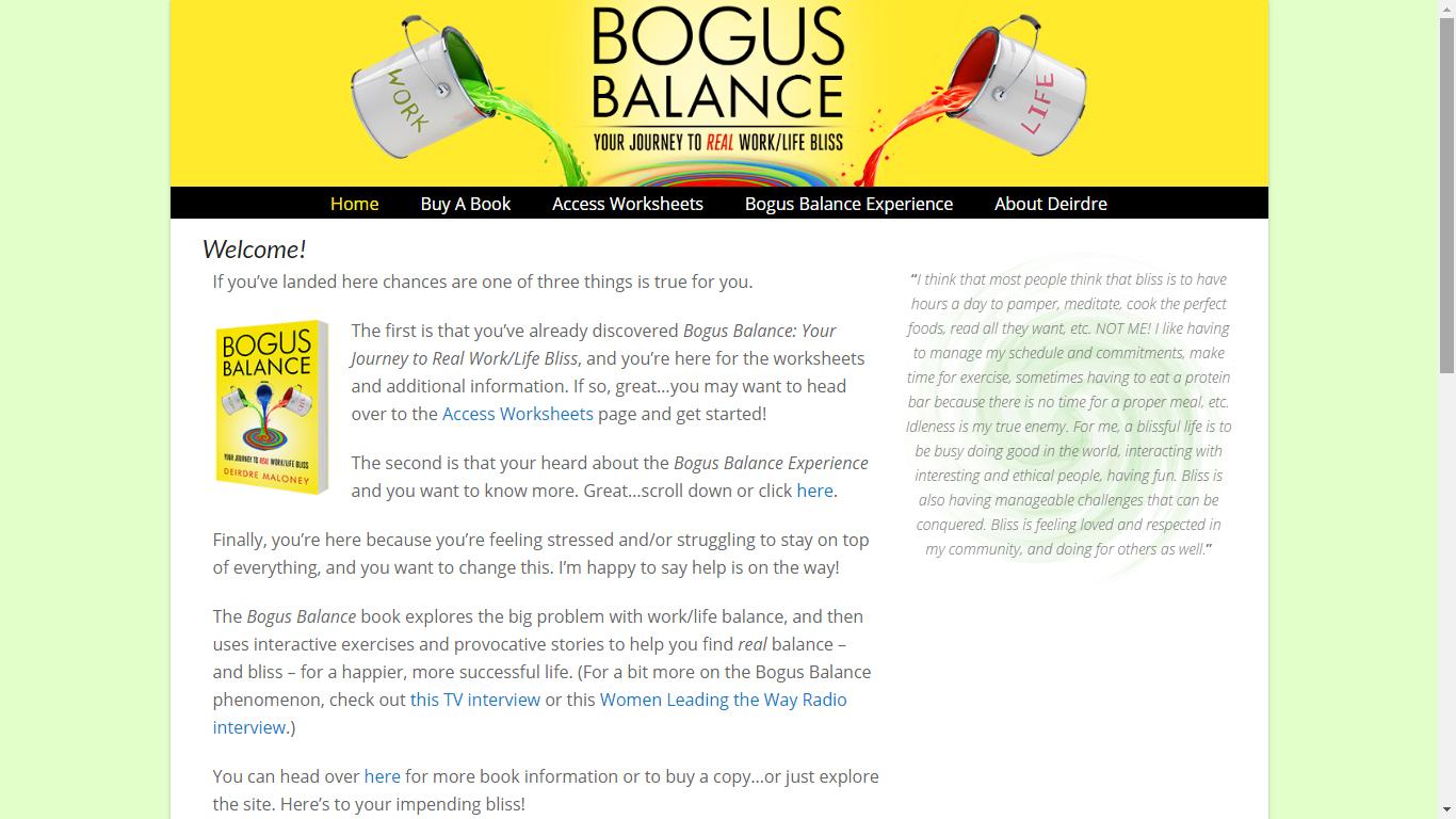 Bogus Balance