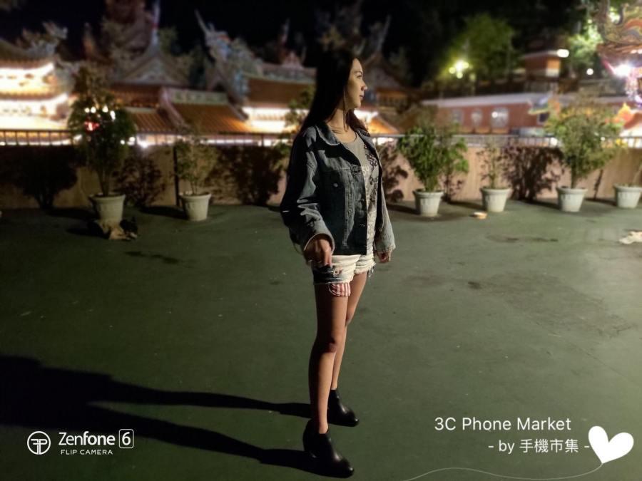 zenfone 6 相機拍攝人物照