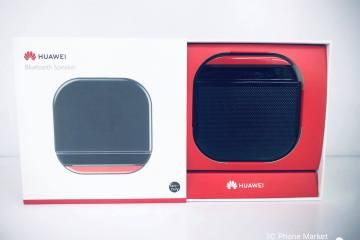 【開箱】 華為HUAWEI I5藍牙音箱 簡約黑紅設計