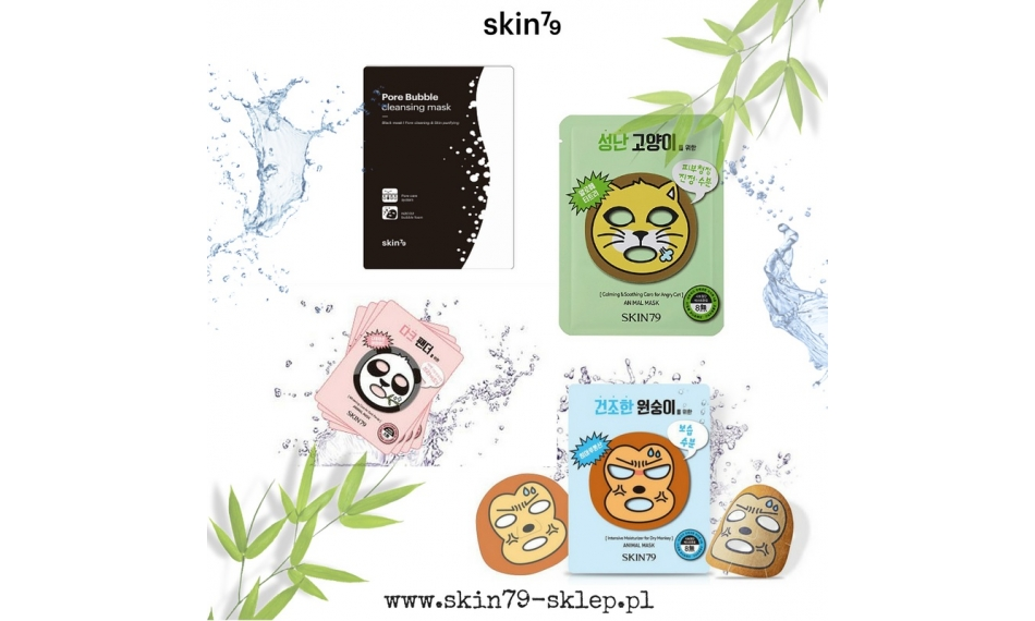 SKIN79 Zestaw Masek Animal Mask