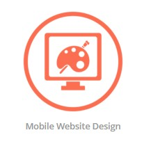 mobile web design logo