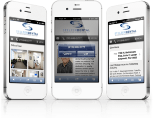 mobile websites designed