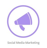 social media marketing logo