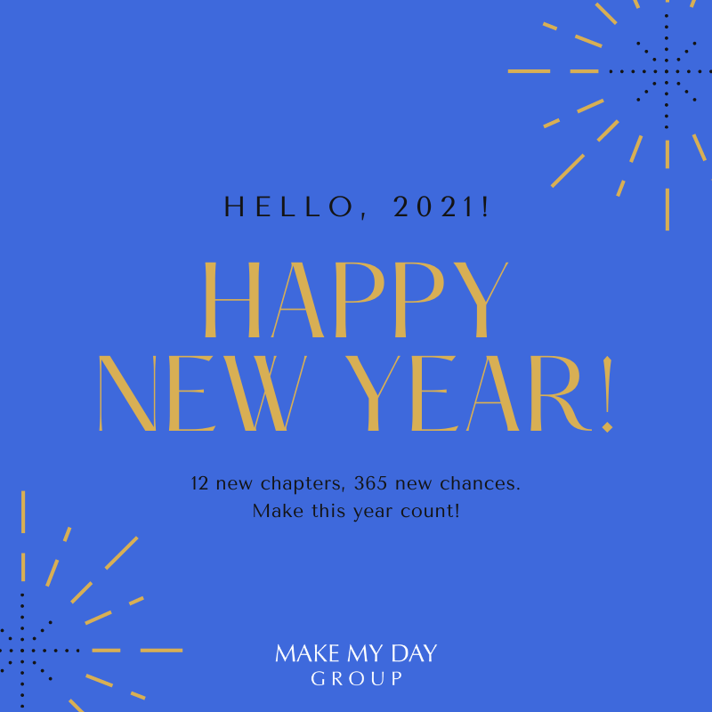 Happy New Year from Make My Day Group