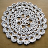 Passion Flower Doily
