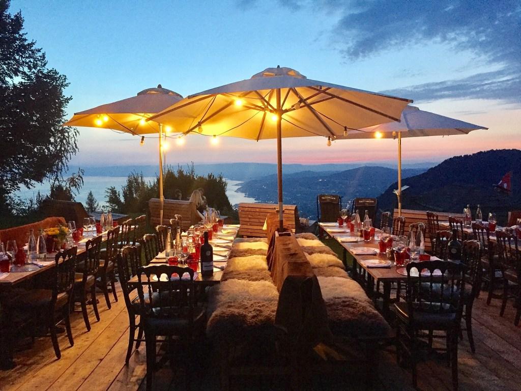 le Coucou Montreux pour La Nuit de l'Hôtellerie