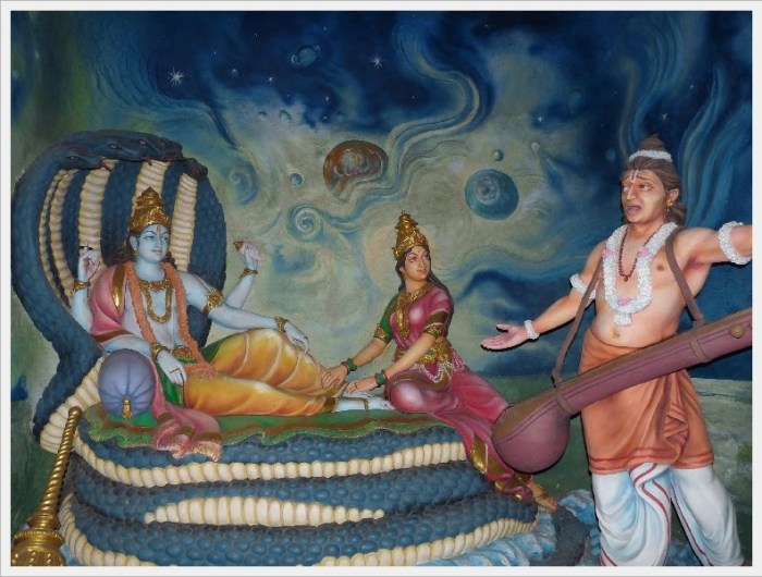 narada curse to Lord vishnu