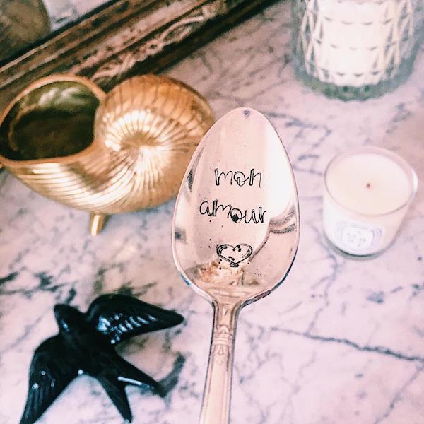 Cuillère Personnalisée Make My Spoon Mon amour