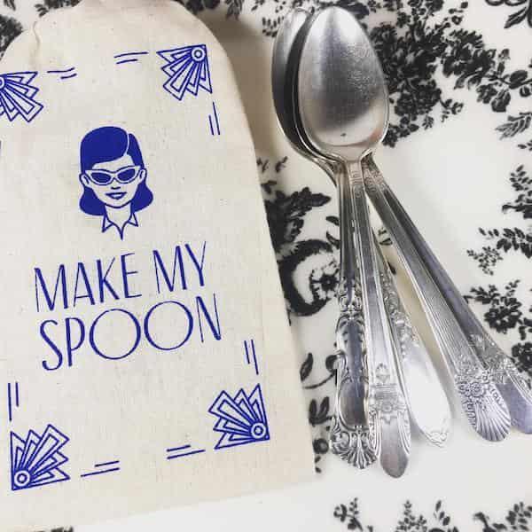 Cuillère personnalisable Pochette Make My Spoon