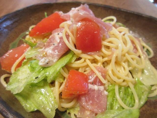 夏バテ防止にトマト&生ハムの冷製パスタ!料理のチカラで心も体もお財布も健康に
