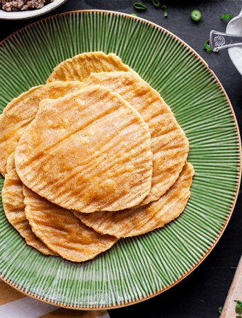 Plantain Tortilla Shells