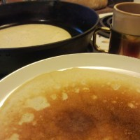 Miners' Sourdough Pancakes