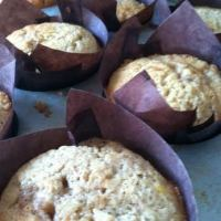 Gluten-Free Raspberry-Ginger Muffins