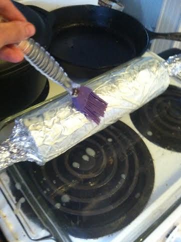 chimney foil butter