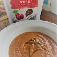Cherry Gazpacho a la Stoneridge Orchards