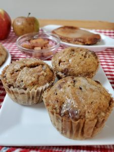 Apple ore Crumble Muffins