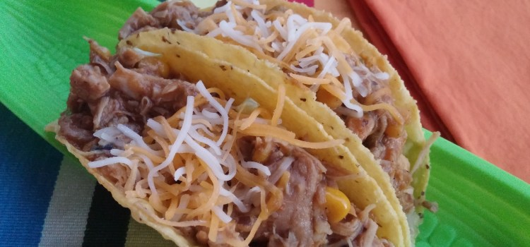Tortilla Soup Pulled Chicken Tacos