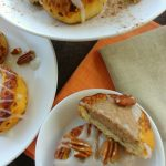 Leftover Cinnamon Rolls Pumpkin Spice Cheesecakes