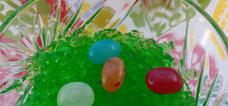 Edible Emerald Easter Grass Treats