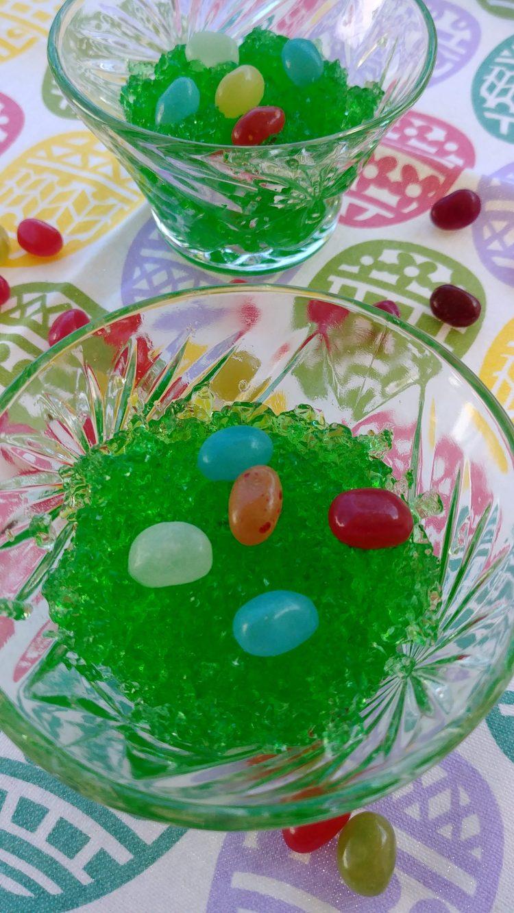 Edible Emerald Easter Grass Treats
