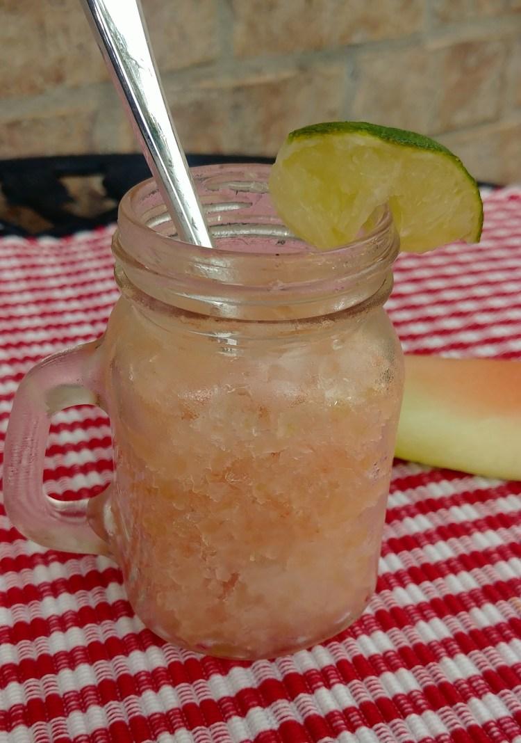 Refreshing Watermelon Rind Granita