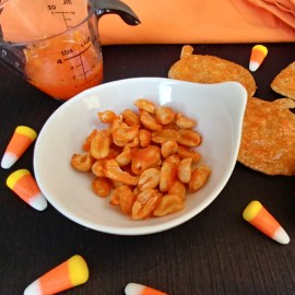 Candy Corn Chips and Nuts