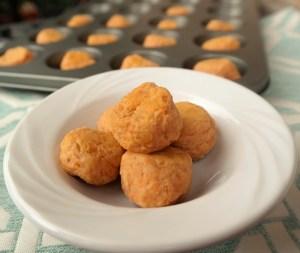 Ham and Sweet Potato Tots