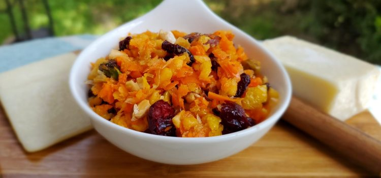 Lemon Cranberry Carrot Relish