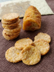 Leftover Egg Roll Crackers and Poppers