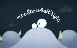 Snowball Fight - A Christmas e-Card from Make Productions