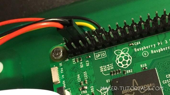 Raspberry Pi Touchscreen installieren 7 Zoll Touchscreen  GPIO Pin 4 6