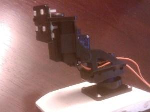 raspberry pi webcam security camera überwachungskamera pan tilt servo