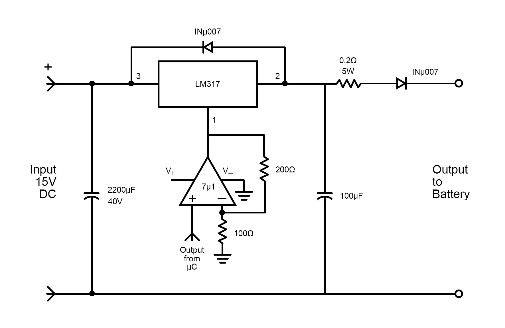 How To Design A Three Stage Battery Charging Circuit