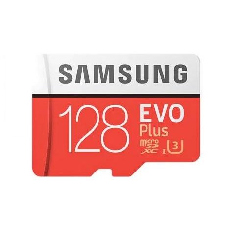 Samsung 128 GB microSD card class 10