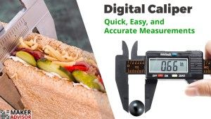 Easy, Quick, and Accurate Measurements with this Digital Caliper
