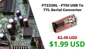This FTDI USB to TTL Serial Converter Costs Less Than $2